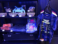 Space Invaders 40th anniversary pop store merchandise