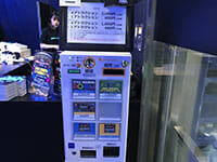 Space Invaders 40th anniversary pop store ticket machine