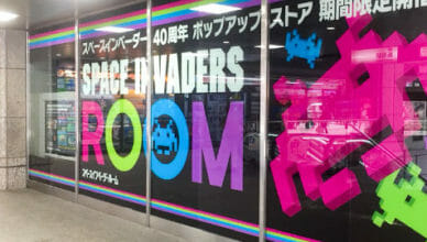 Space Invader AR Room in Japan