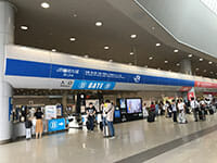 JR ticket gate at Kansai International Airport